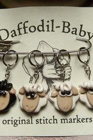 Handmade Sheep Stitch Markers