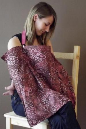 UCHI New Look Nursing Cover, Multi Use, Interchangeable with MOVING ARC system