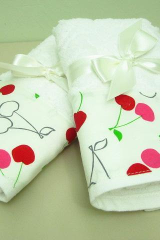 Mothers Days Gift . 2 Pcs Towel . Tea Towel . Kitchen Towel .