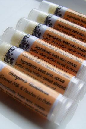 Coconut, Milk, & Peaches Lip Balm