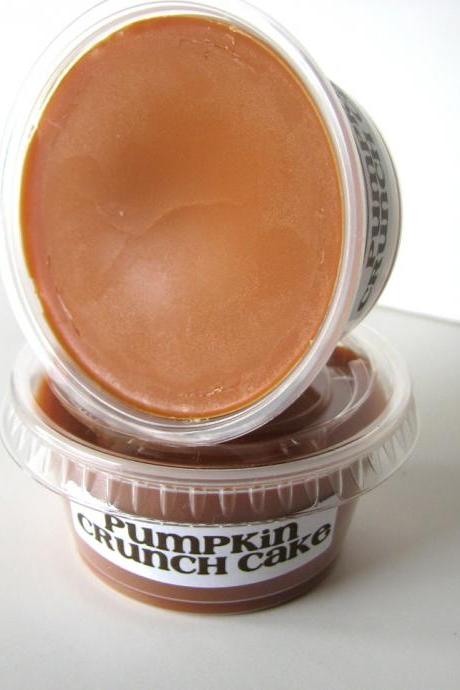 Best Seller! Pumpkin Crunch Cake Scented Soy Wax Melt 2 Pack